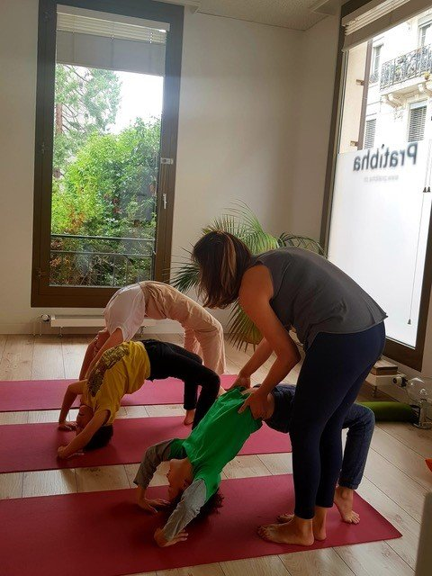 simone kaufmann every body and co coaching kids workshop yoga